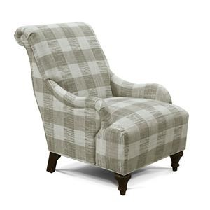 Cottage Accent Chair with Tradtional Style