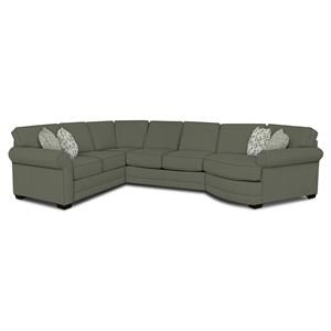 Adele Sectional with Cuddler