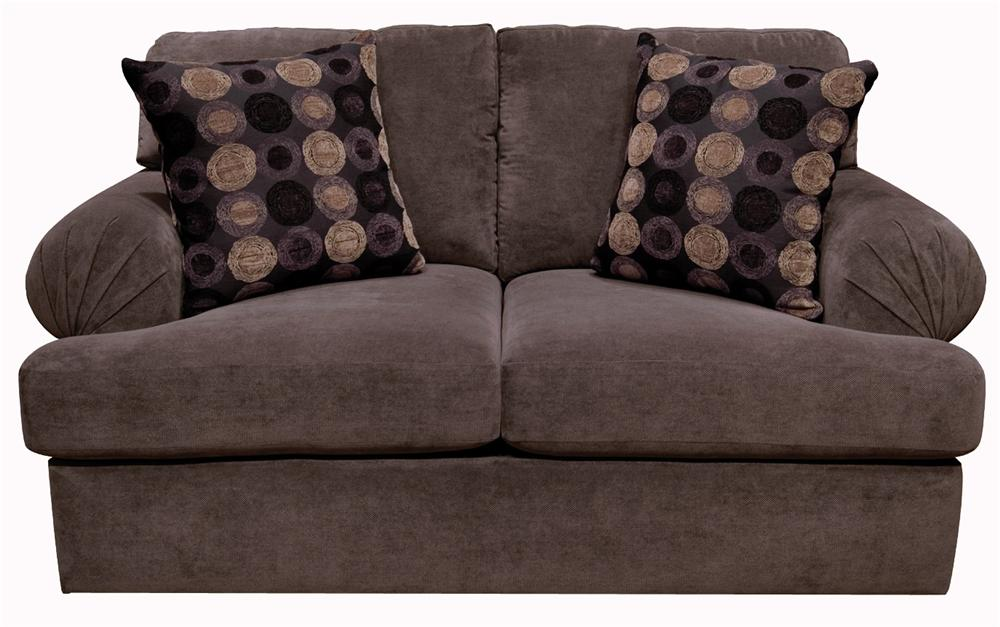 Abbie Upholstered Loveseat by England at Novello Home Furnishings