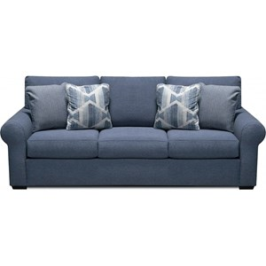 Casual Sofa with Drop Down Tray