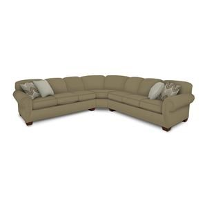 2 Piece Left Arm Facing Sectional