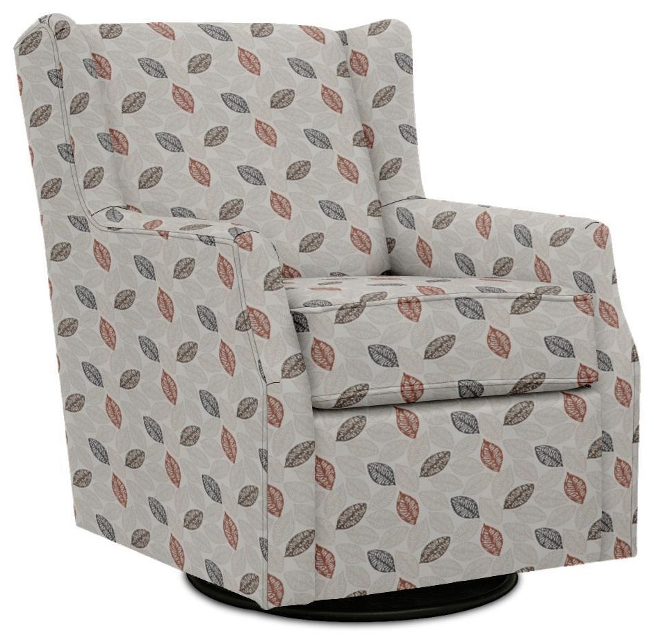 Neville Swivel Glider by England at Crowley Furniture & Mattress