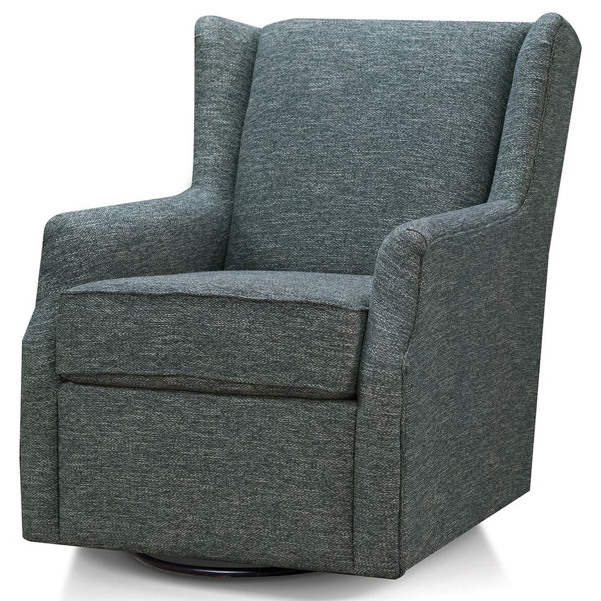 Allie Swivel Glider Chair by England at Suburban Furniture