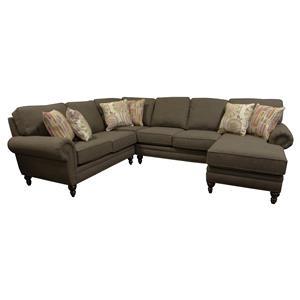England Amix  Five Seat Sectional Sofa