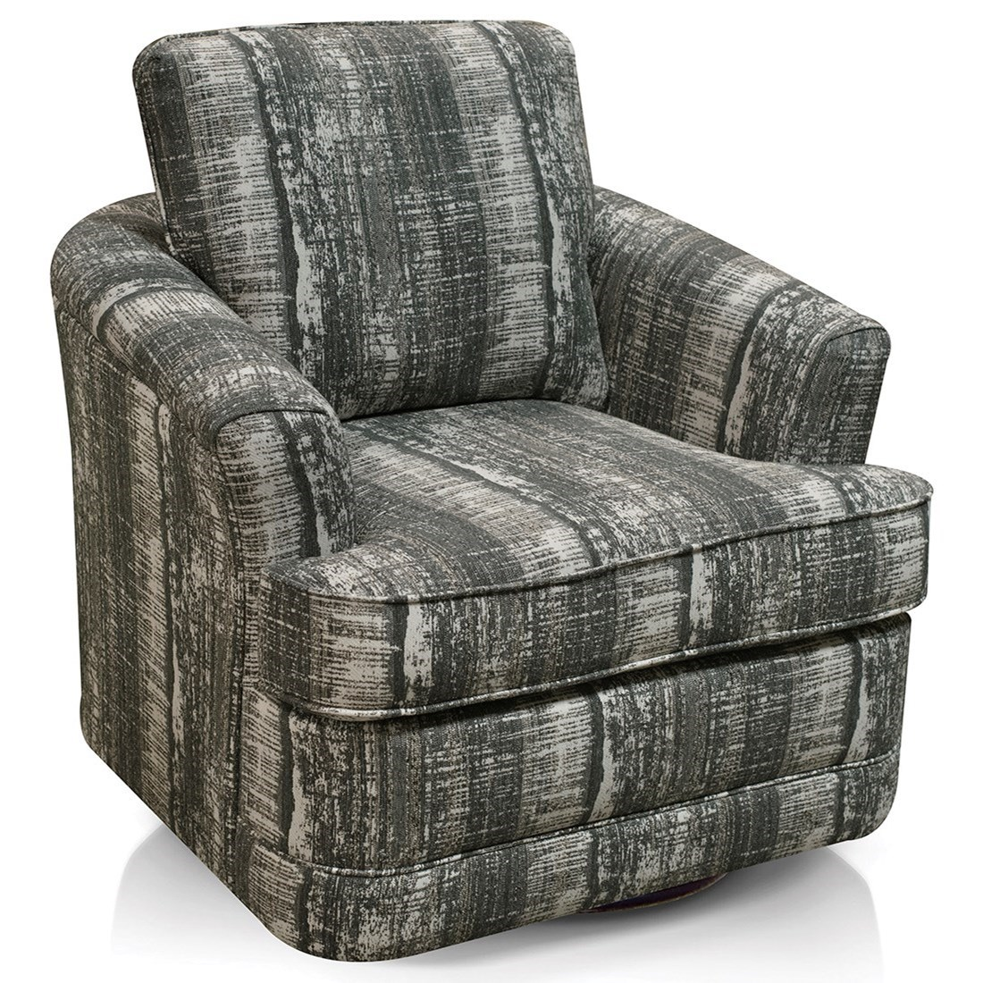 Amos Swivel Chair by England at Van Hill Furniture