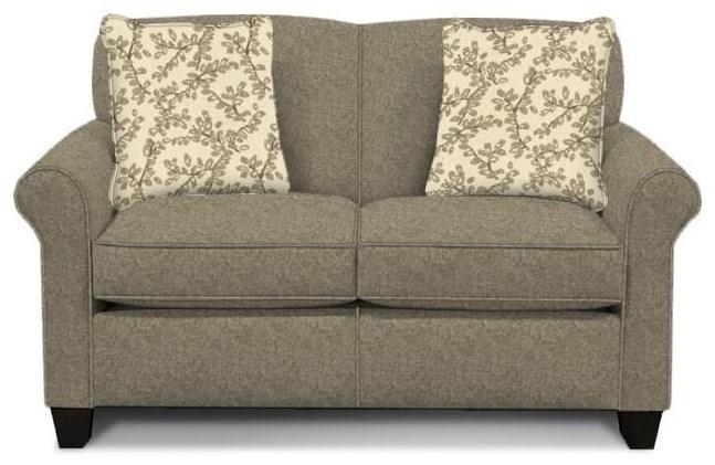 Damian Pepper Twin Sleeper Sofa by England at Crowley Furniture & Mattress