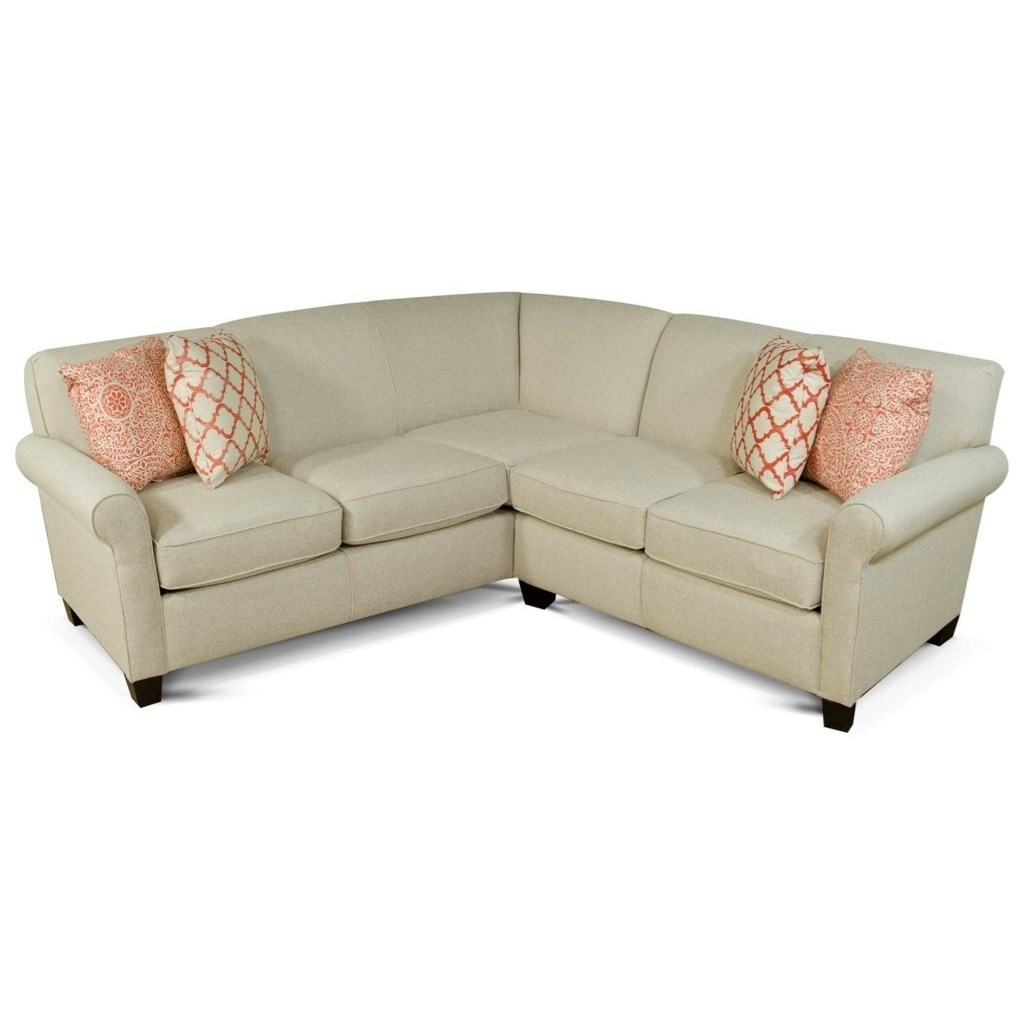 Angie  Sectional Sofa by England at Van Hill Furniture