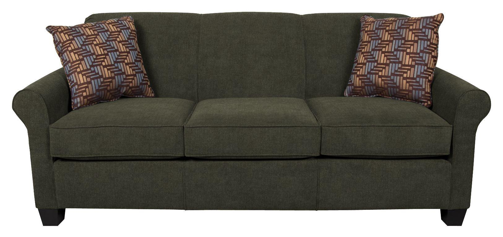 Angie  Casual Stationary Sofa by England at Furniture and ApplianceMart