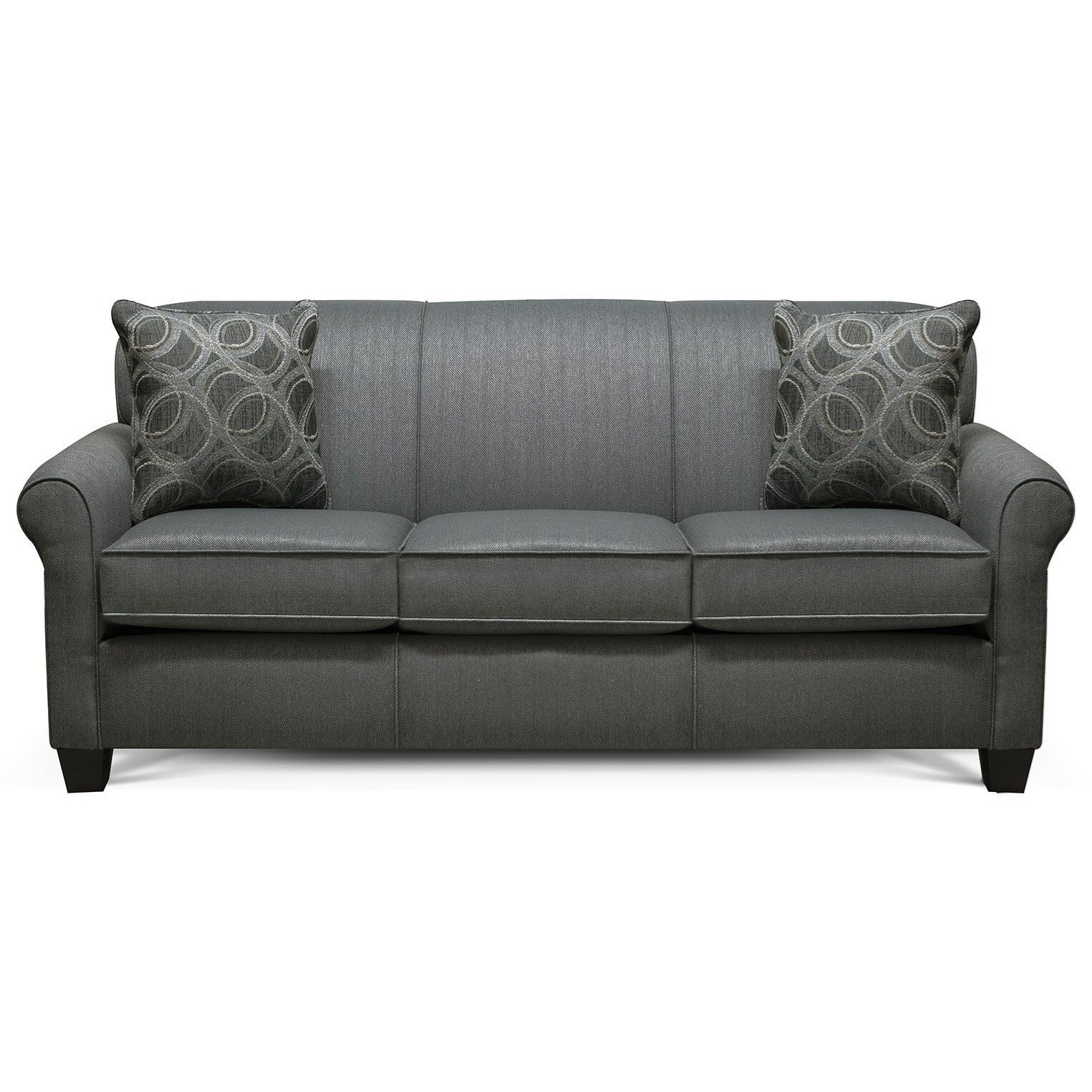 Angie  Casual Stationary Sofa by England at VanDrie Home Furnishings