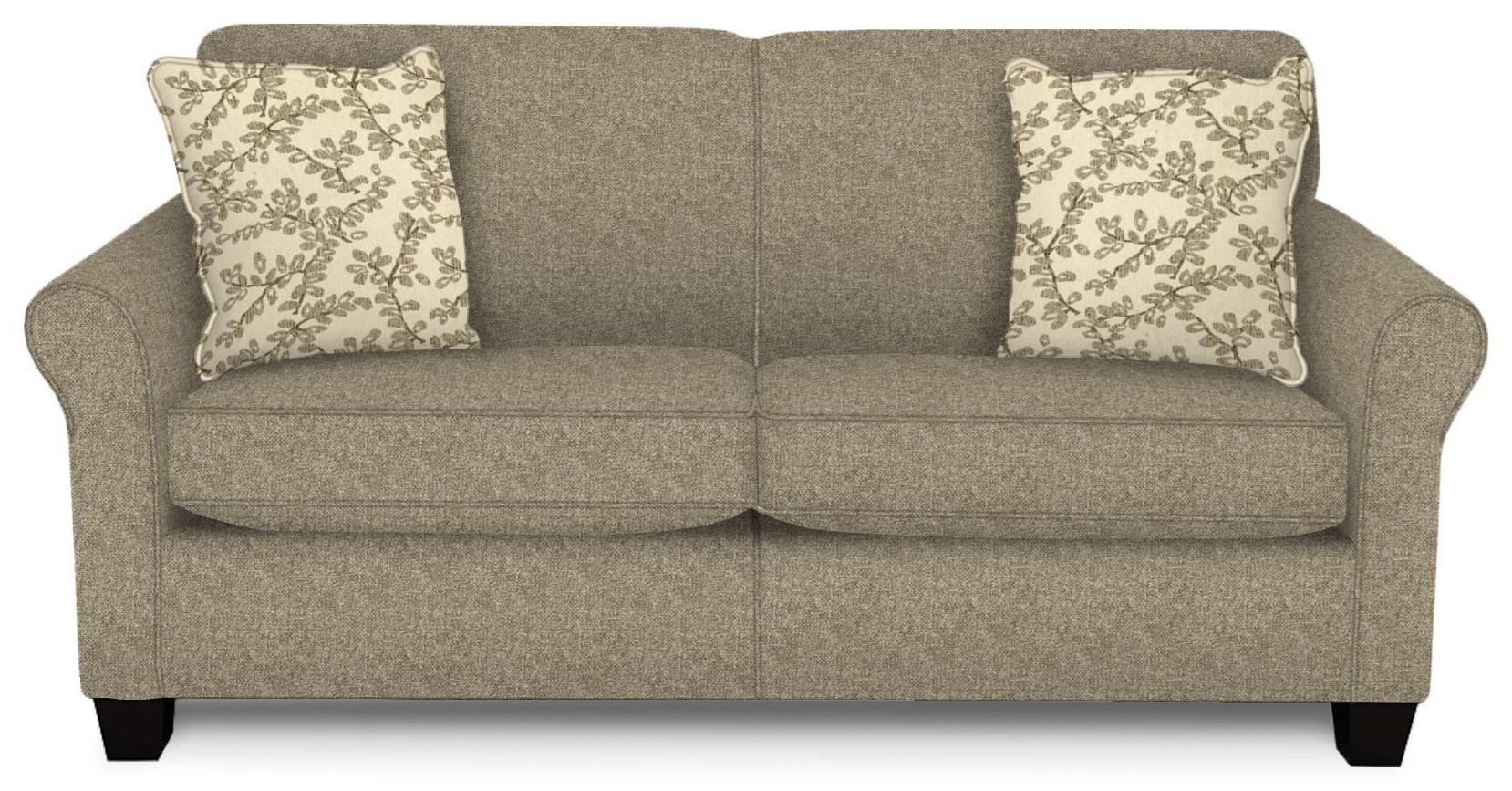 Damian Pepper Full Sleeper Sofa by England at Crowley Furniture & Mattress