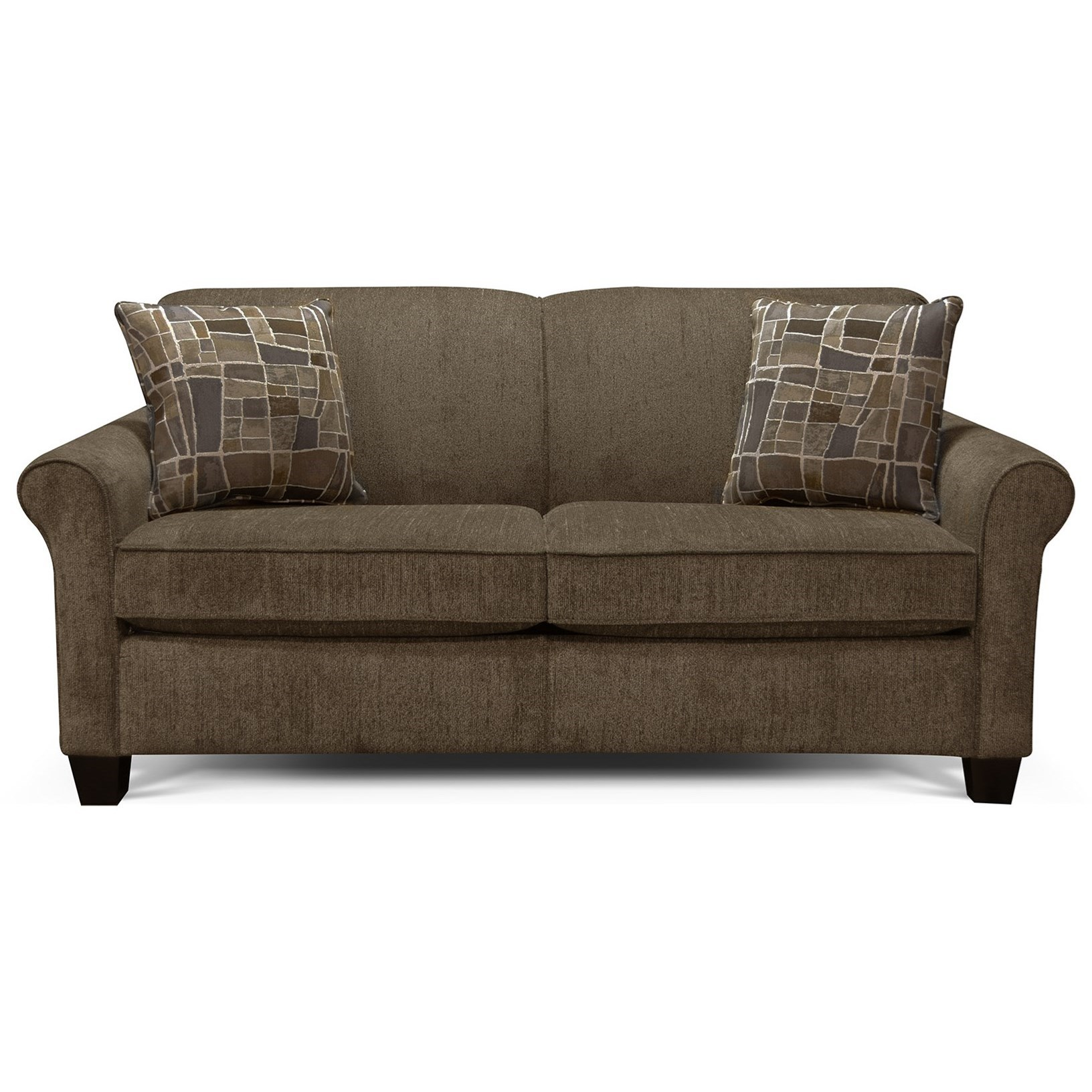Abalone Full Sleeper Sofa by England at EFO Furniture Outlet