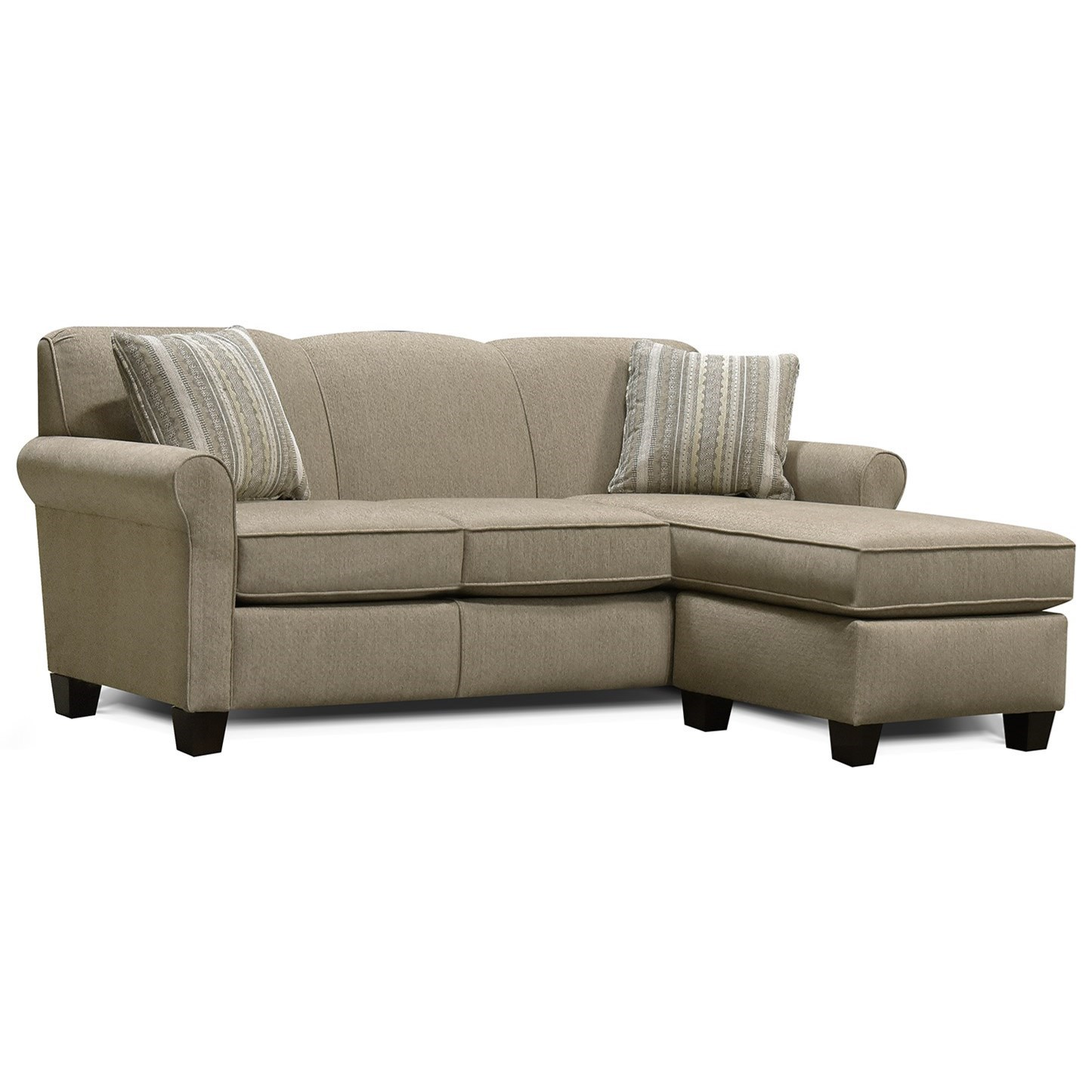 Angie  Sectional Sofa with Floating Ottoman by England at Virginia Furniture Market
