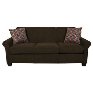 Air Queen Sleeper Sofa With Accent Cushions