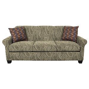 Air Queen Sleeper Sofa With Accent Cushions