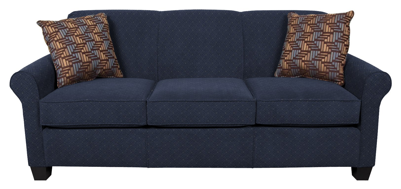 Angie  Queen Sleeper Sofa with Comfort 3 Mattress by England at Van Hill Furniture