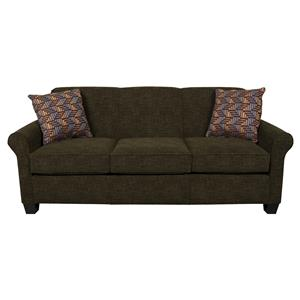 Queen Sleeper Sofa with Visco Mattress