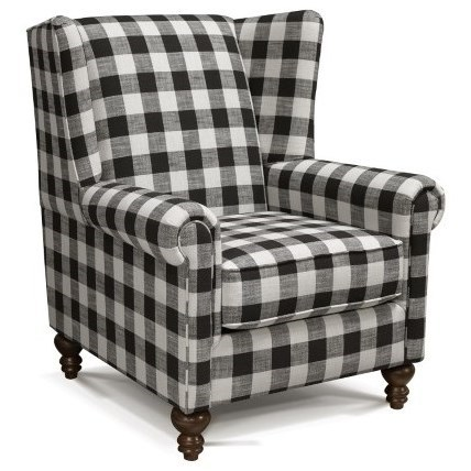 Yasmine Chair by England at Crowley Furniture & Mattress