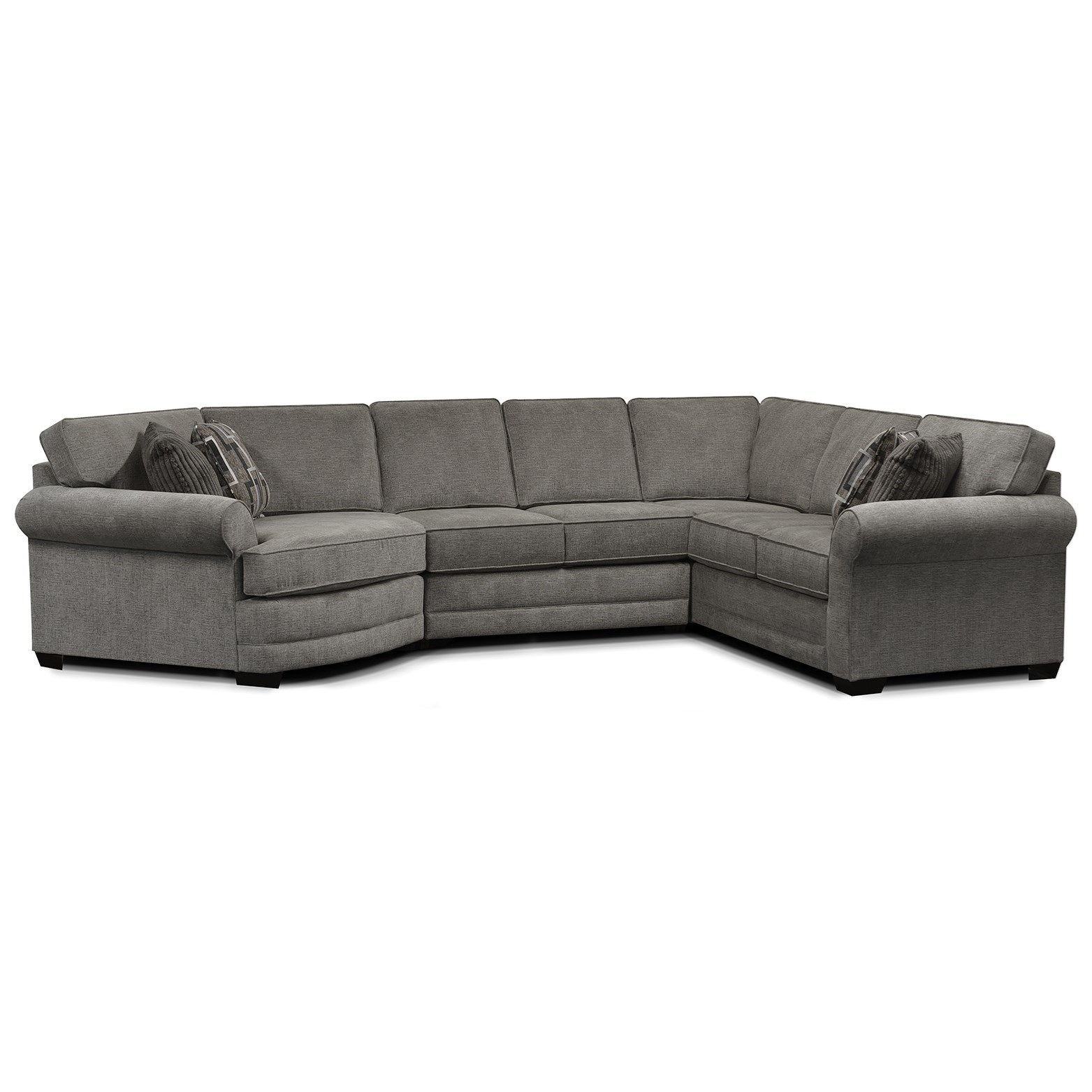 Brantley 4-Piece Sectional by England at Rooms and Rest