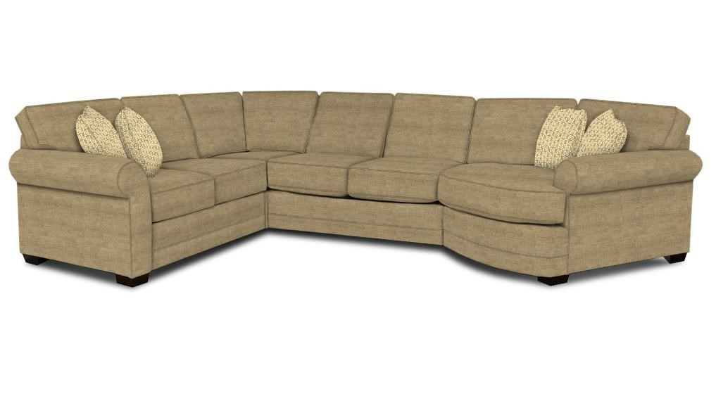 4-Piece Cuddler Sectional