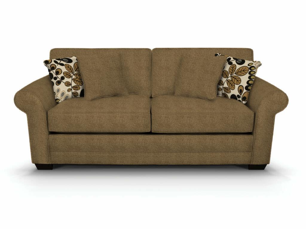 Brantley Upholstered Sofa by England at Dunk & Bright Furniture