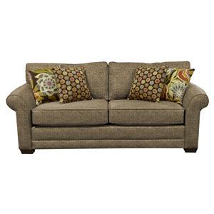 Upholstered Stationary Sofa