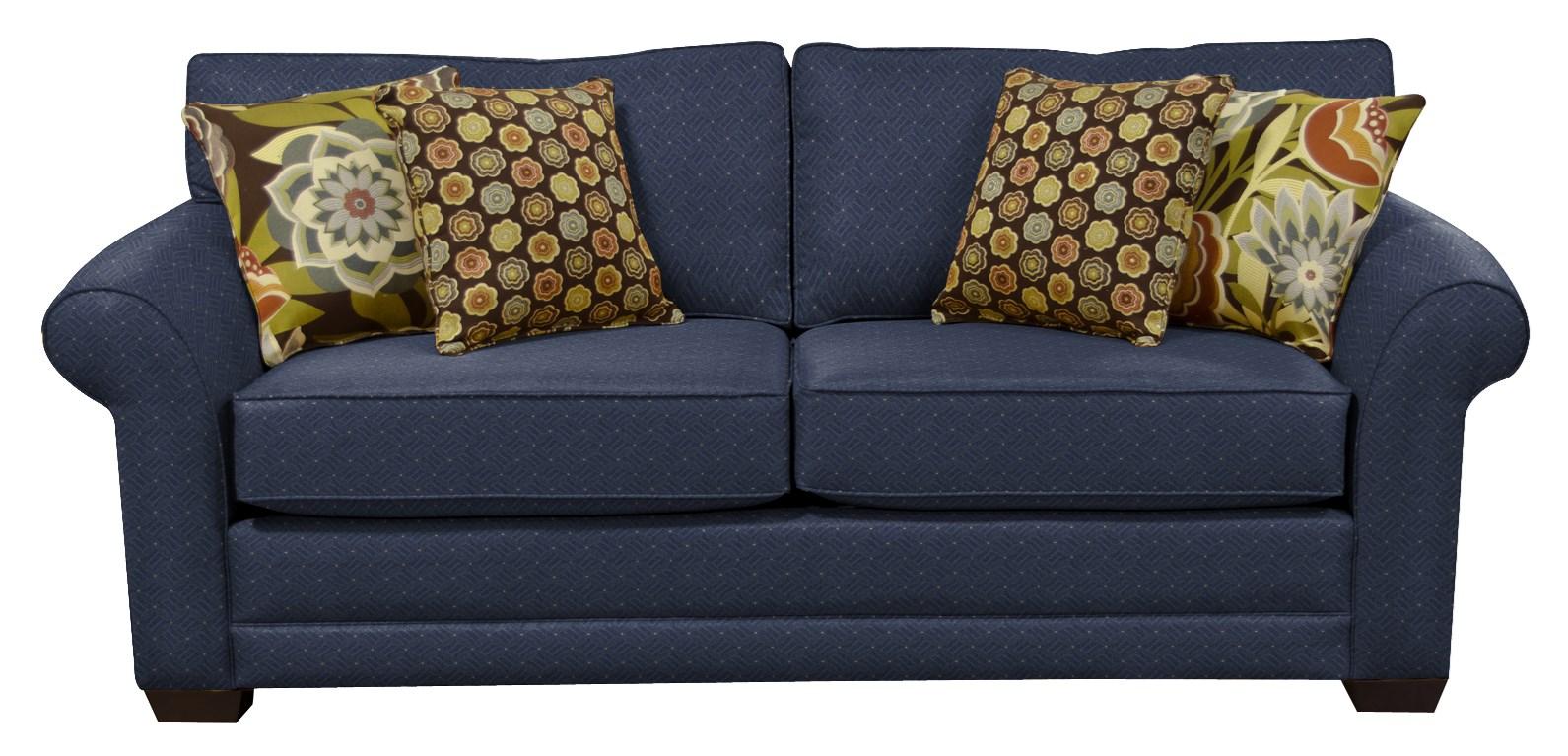 Brantley Queen Sleeper with Comfort 3 Mattress by England at Lapeer Furniture & Mattress Center