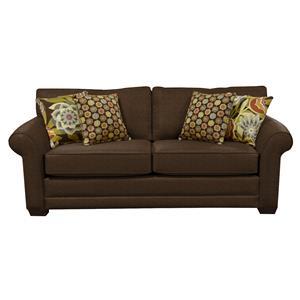 Queen Sleeper Sofa with Visco Mattress