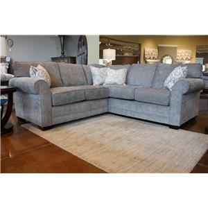 Brevard Grey 3 Piece Sectional