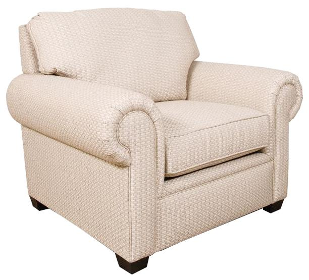Brett Rolled Arm Chair by England at SuperStore