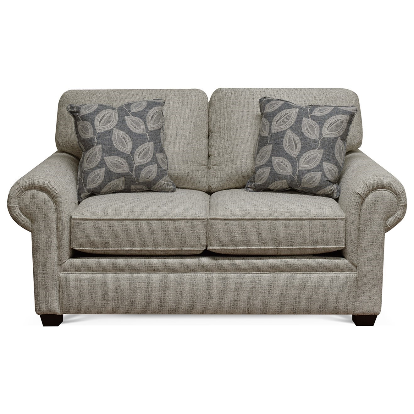 """""""Y"""" Loveseat by England at Crowley Furniture & Mattress"""