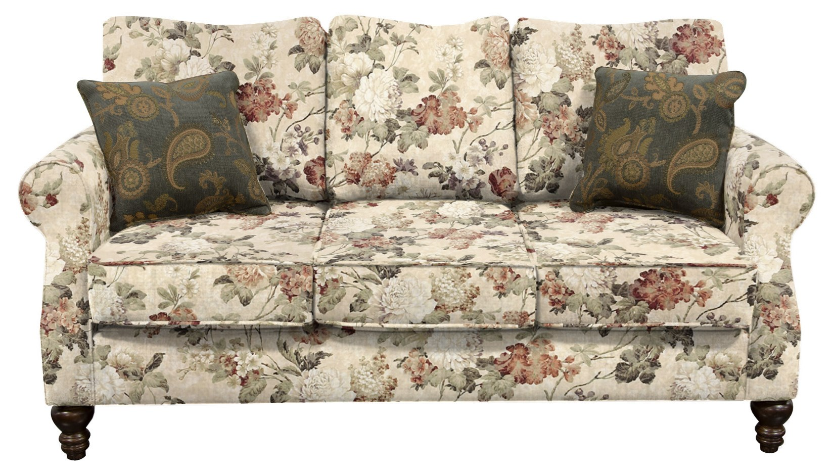 Brinson and Jones Small Scale Sofa by England at Novello Home Furnishings