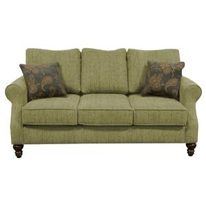 Small Scale Sofa with Three Seats