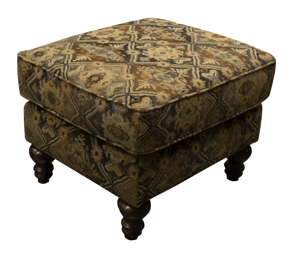Jones Small Scale Ottoman by England at VanDrie Home Furnishings