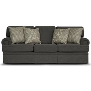 Three Over Three Upholstered Sofa