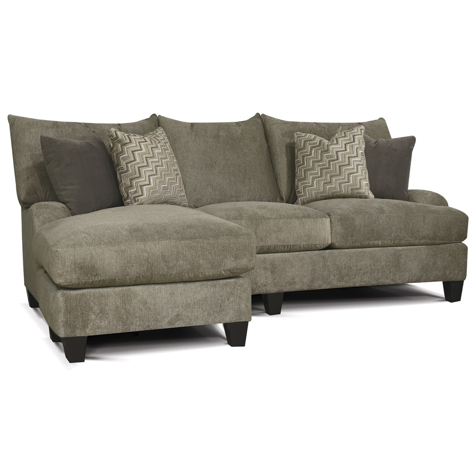 Catalina Sofa with Floating Otto-Chaise by England at Crowley Furniture & Mattress