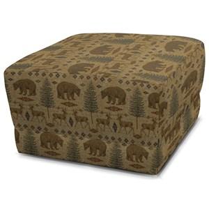 Contemporary Box Ottoman