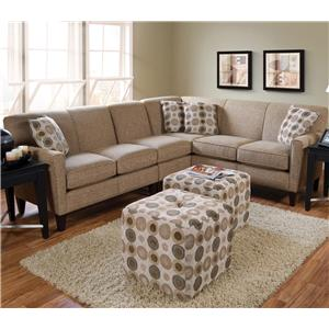 England Collegedale Contemporary Sectional