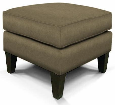 Olivia Upholstered Ottoman by England at Crowley Furniture & Mattress