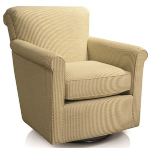 Rolled Back Swivel Chair