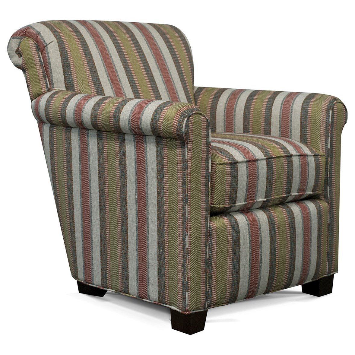 Cunningham Rolled Back Chair by England at Sadler's Home Furnishings