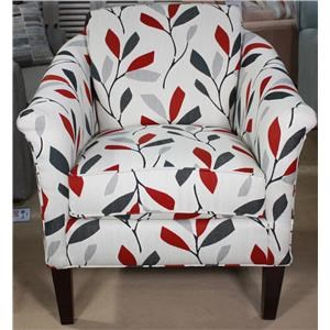 Chic Accent Chair with Cosmopolitan Style