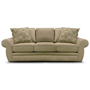 Casual Sofa with Sock Arm