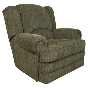 Traditional Styled Swivel Gliding Recliner Chair