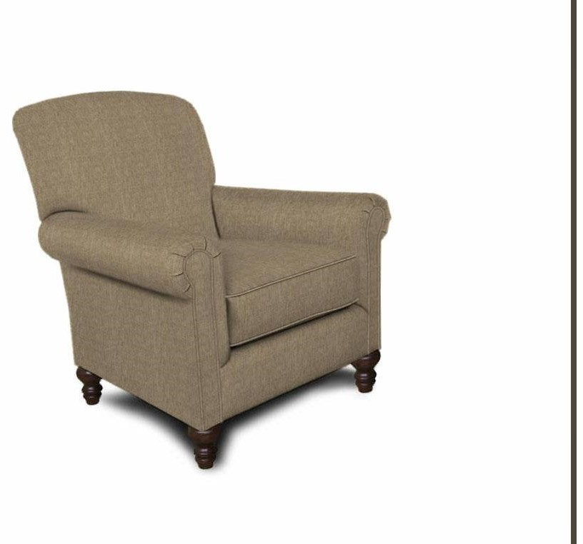 Upholstered Traditional Chair