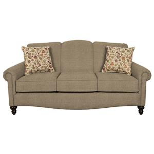 Traditionanl Upholstered Sofa