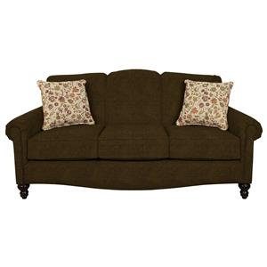 Traditional Upholstered Sofa