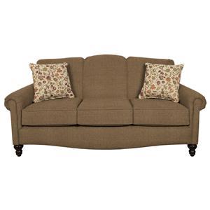 Traditional Upholstered Sofa