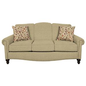 Traditionanl Upholstered Sofa
