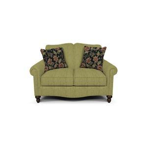 Traditional Upholstered Loveseat