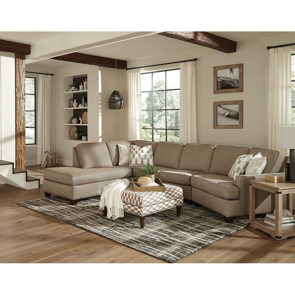 Elliott 3-Piece Sectional by England at Virginia Furniture Market